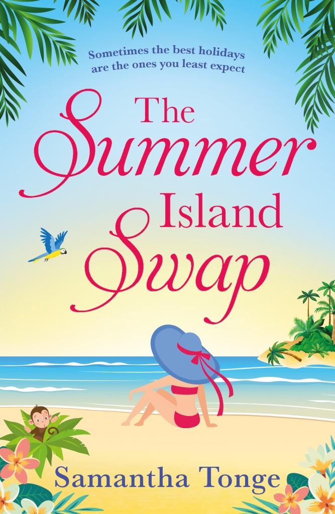 Cover art of The Summer Island Swap by Samantha Tonge