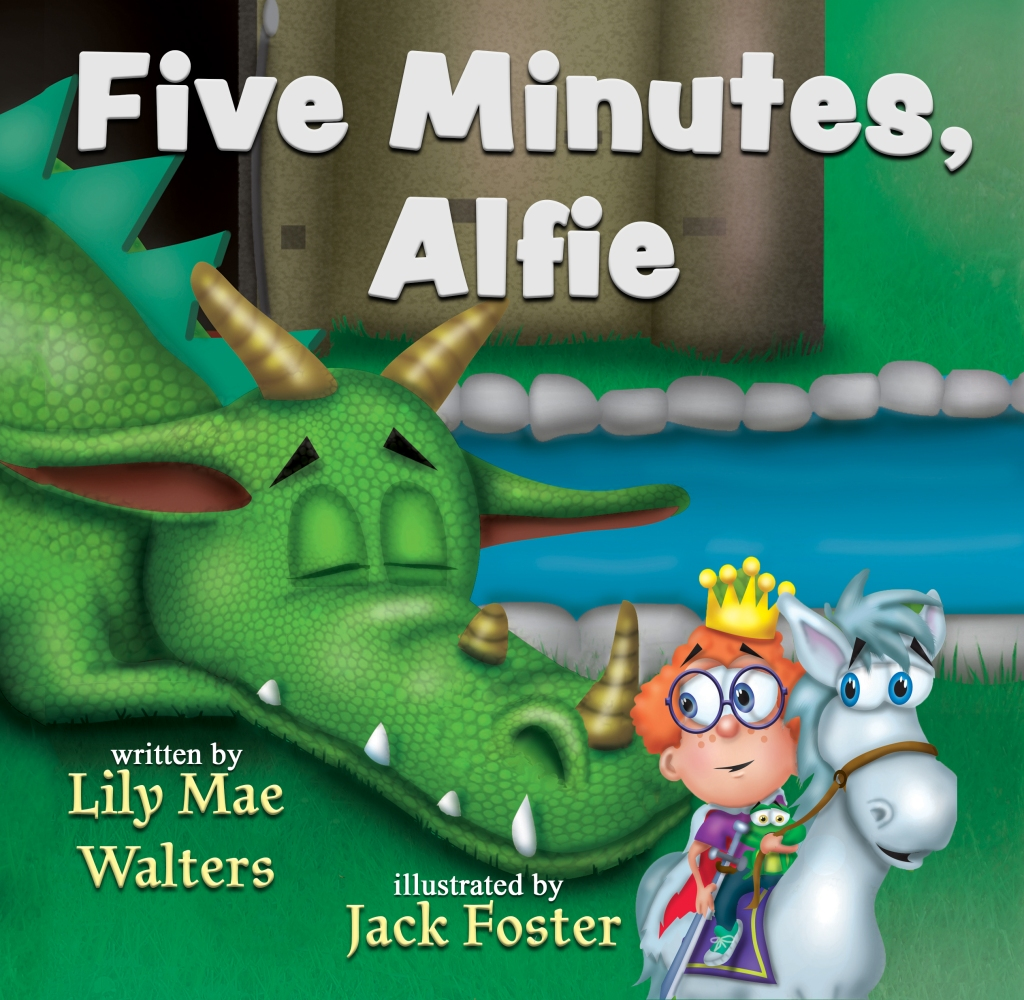 Cover front of Five Minutes, Alfie by Lily Mae Walters