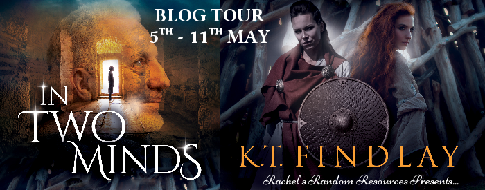 In Two Minds blog tour banner