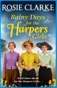 Rainy Days for the Harpers Girls by Rosie Clark cover