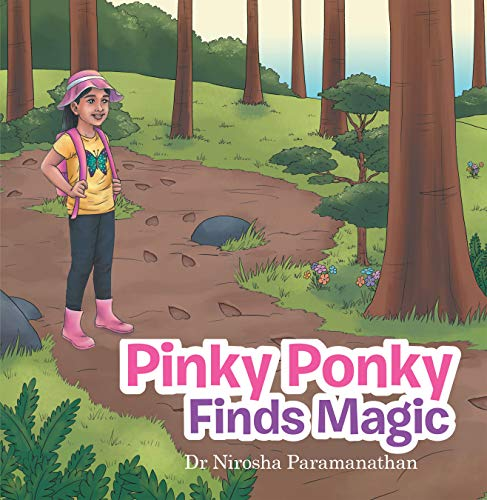 Pinky Ponky Finds Magic cover