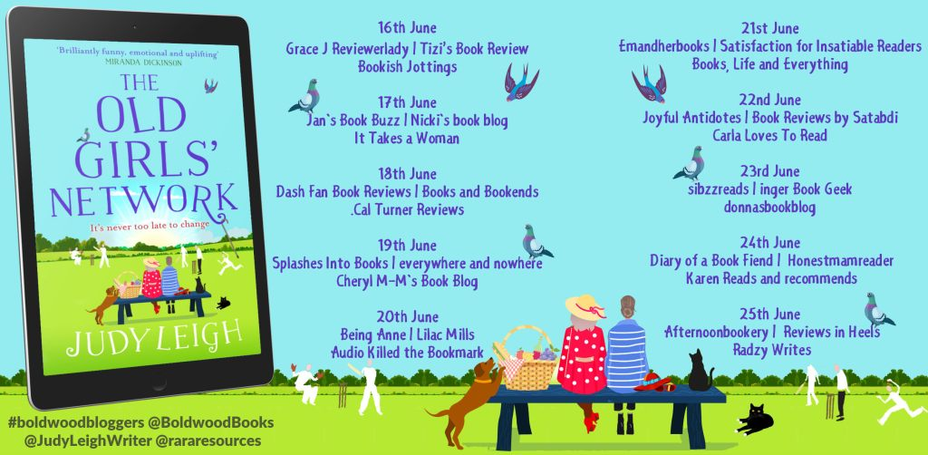 The Old Girls' Network blog tour schedule