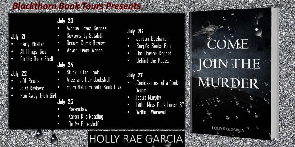 Come Join the Murder blog tour schedule