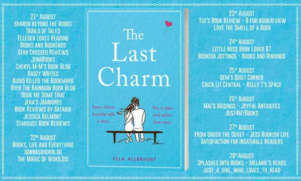 The Last Charm full blog tour