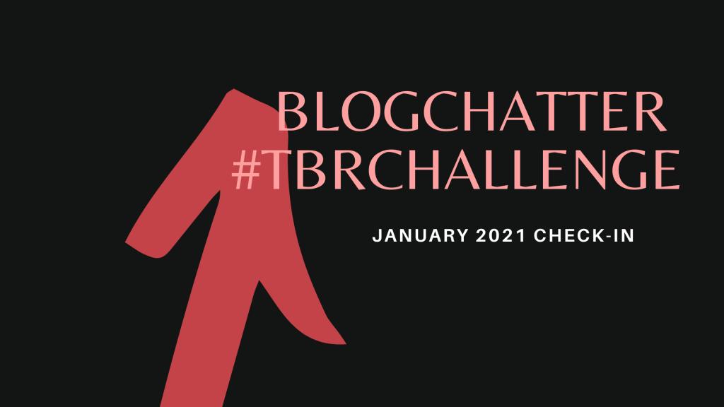 Blogchatter TBR Challenge Jan check-in