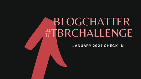 Blogchatter TBR Challenge Jan check-in