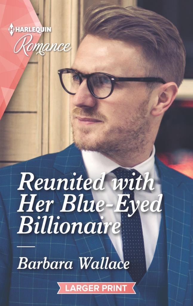 Reunited with her blue-eyed billionaire front cover