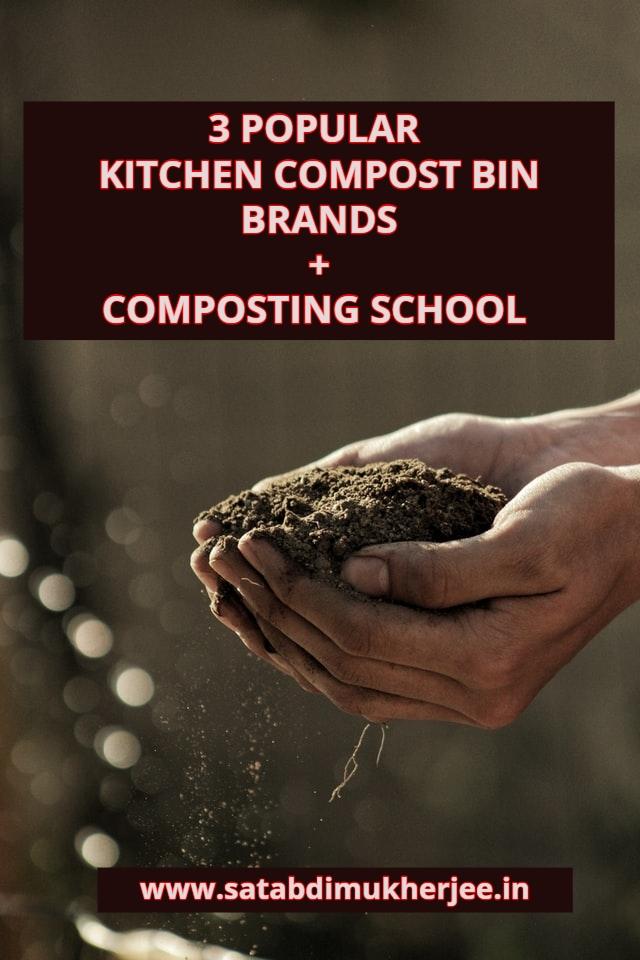 3 popular kitchen compost bin brands