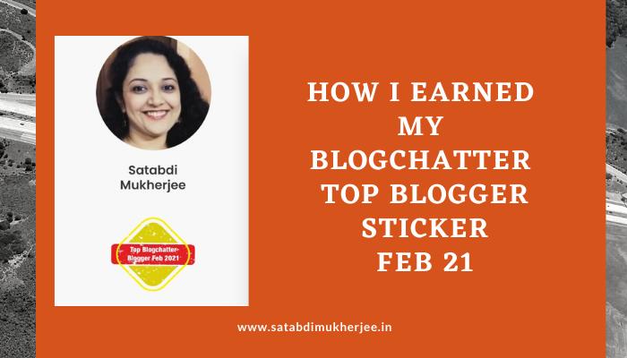 Top blogger feb 21 satabdi