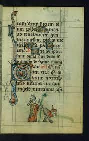 Obscene medieval marginalia