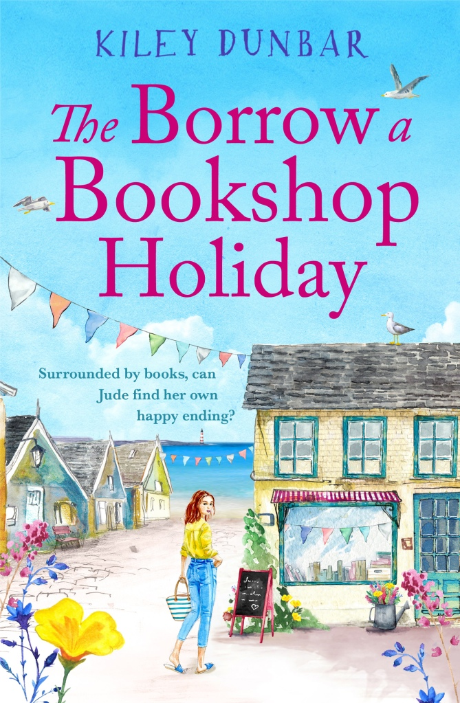 The Borrow a Bookshop Holiday front cover