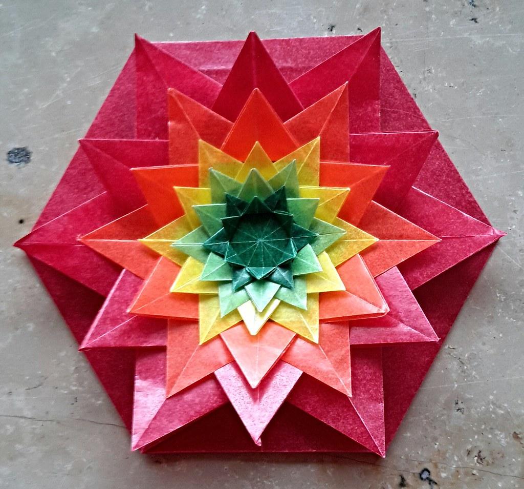 Colored glassine paper