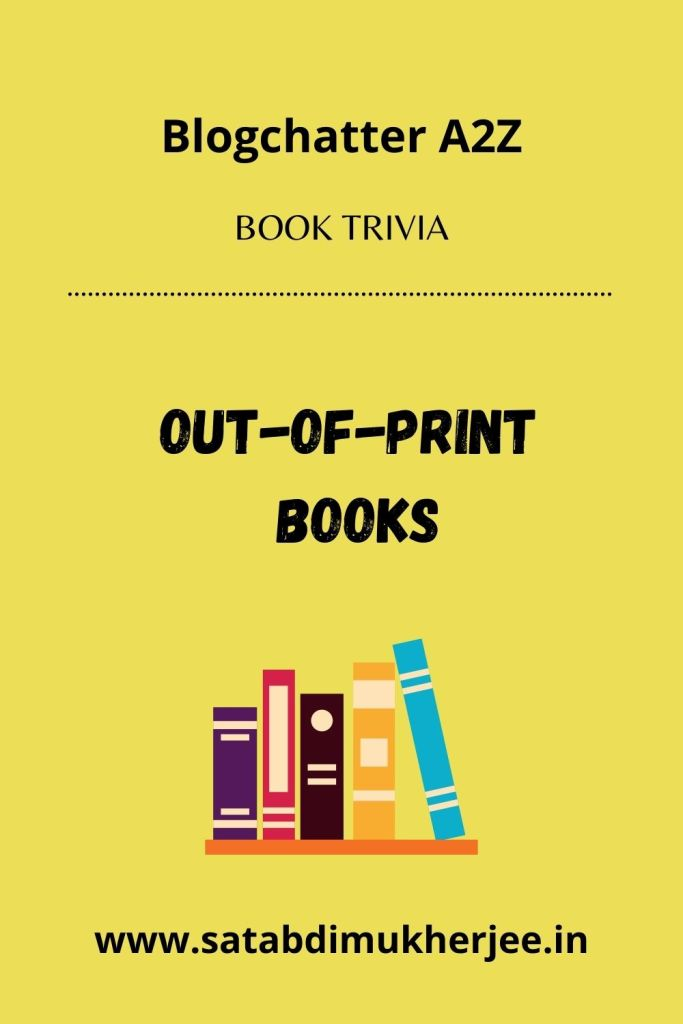 Out-of-print books pin
