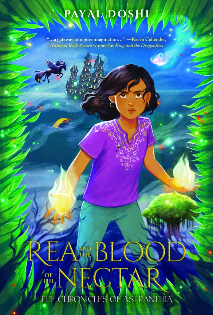 Rea and the Blood of the Nectar cover