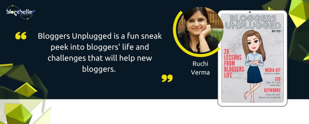 Bloggers Unplugged Ruchi Verma