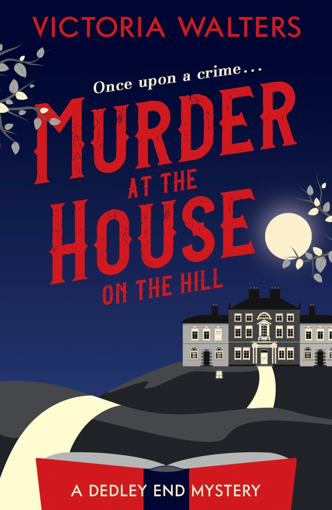 Murder at the house on the hill front cover